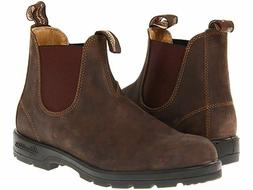 Blundstone 585 Women's Classic Chelsea Boots Rustic Brown Si