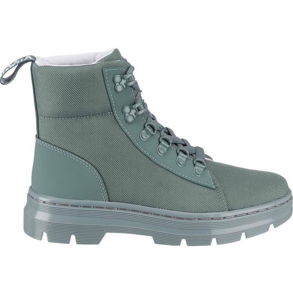 Dr. Martens Combs Womens Poly Casual Boots Tech Utility Teal
