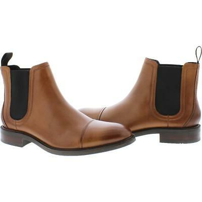Cole Haan Leather Pull Waterproof Chelsea Boots Shoes 4186