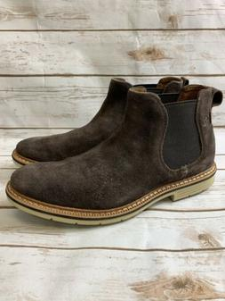 Timberland Men's Naples Trail Chelsea Boots Dark Brown Size