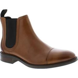 Cole Haan Mens Conway Leather Pull On Waterproof Chelsea Boo
