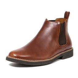 Soft Stags Deer Stags Mens Chelsea Rockland Boots Cognac Siz